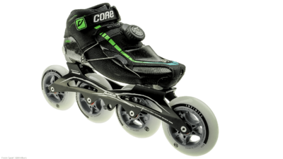 Powerslide Vi Carbon met x-frame 4x100mm