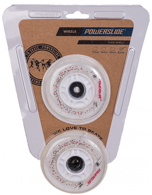 Powerslide Flash Wheels 80mm