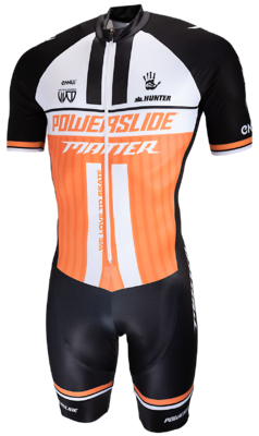 Powerslide Inline Skinsuit World orange 2019