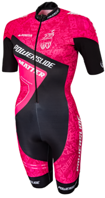 Powerslide Inline Skinsuit World Pink 2017