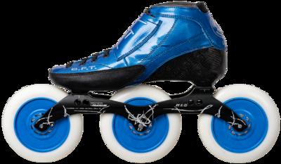 Luigino Strut blue with Powerslide Vi 3x125mm