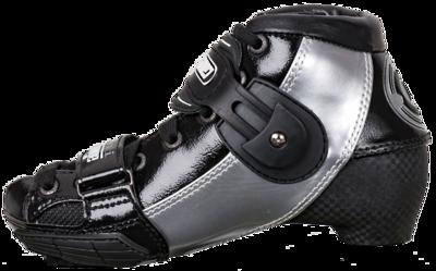 Luigino Kids Mini Challenge schoen zilver/zwart