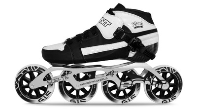 Bont Pursuit Skate Zwart/Wit 4x100