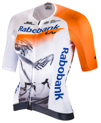 RabobankLiv short sleeve cycling shirt PROF