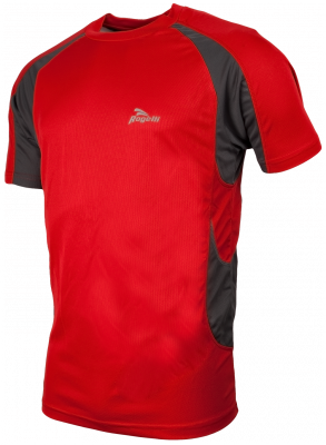 t-shirt clearwater rouge/gris