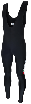 Rogelli Bib tight without seam, with italian flag on the leg