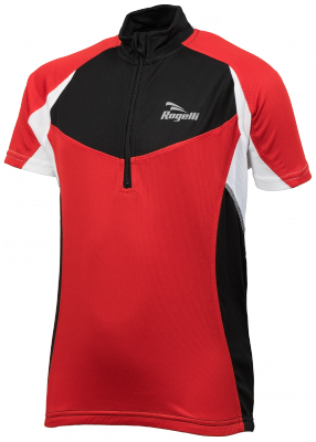 Rogelli Ranco Maillot Manches courtes Rouge