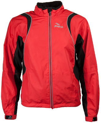 Braxton Running Jacket Kids Rood