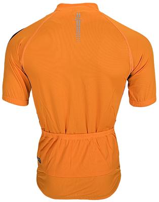 Rogelli Paris Shirt  Korte Mouw Oranje