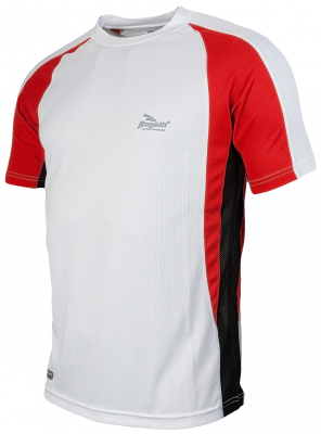 Running shirt Elba wit/rood