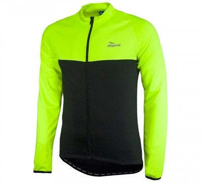 Caluso Long sleeve fluo yellow/black