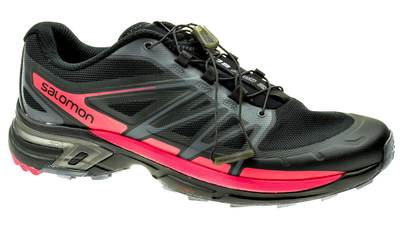 Salomon Wings Pro 2 black/dark-cloud/madder-pink dames