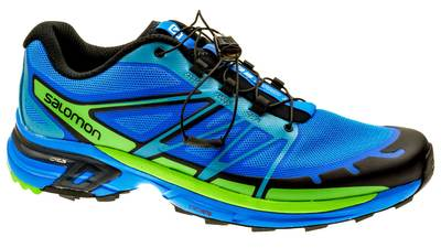 Salomon Wings Pro 2 bright-blue/black/tonic-green heren