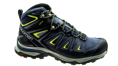 Salomon X Ultra Mid 3 GTX crown blue/evening blue/sunny lime