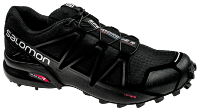 Salomon Speedcross 4 Black/Black/Black-Metallic