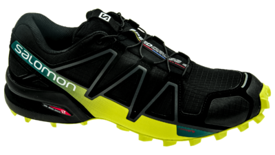 Salomon Speedcross 4 Black/Everglade/Sulphur Spring