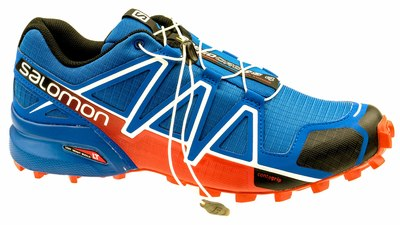 Salomon Speedcross 4 blue yonder/black/lava orange