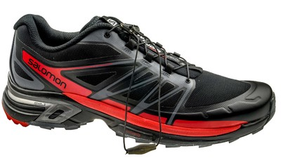 Salomon Wings Pro 2 black/dark-cloud/radiant-red