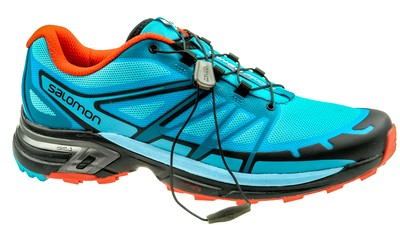 Salomon Wings Pro 2 W blue jay/fog blue/lava orange
