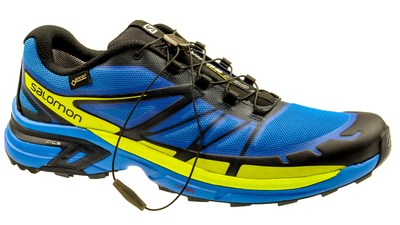 Salomon Wings Pro 2 bright-blue/gecko green/deep blue