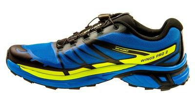 SalomonWings Pro 2 GTX bright-blue/gecko green/deep blue