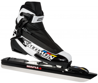 Salomon Rs Carbon avec lame Maple Chrome Steel