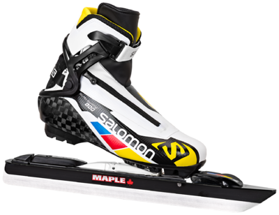 Salomon S-Lab carbon Sk avec lame Maple Chrome