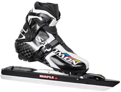 Salomon S-Lab Skate Pro avec lame Maple Chrome