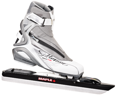 Salomon Vitane 8 avec Maple Chrome Steel