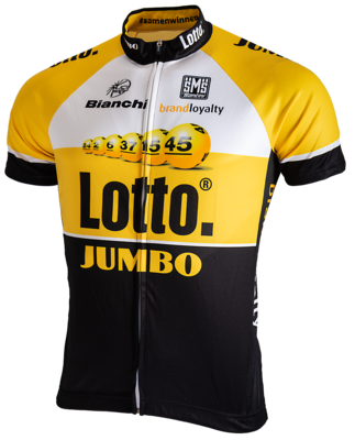 Santini bike jersey Team Lotto Jumbo