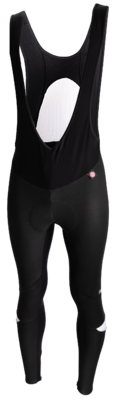 Santini Fiets Windstopper Bibtights Zwart Wit