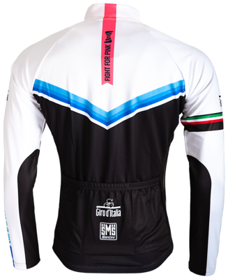 Cycleshirt Giro D'Italia Blue-Black-White