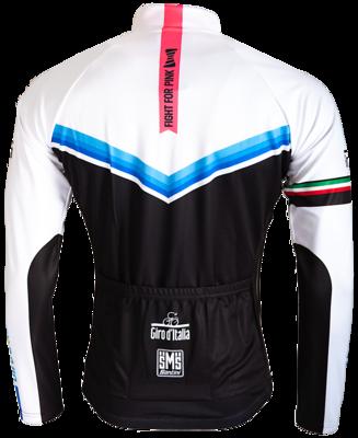 Santini Fietsshirt Giro D'Italia Blauw-Zwart-Wit