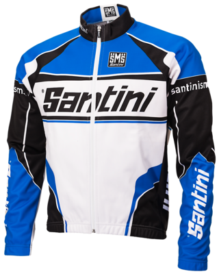 Santini Windstopper jacket Team Logo