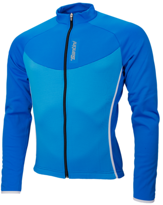 Santini Windstopper Blueprint Fietsjack