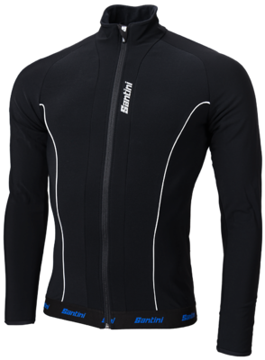 Santini Windstopper Blackprint Fietsjack
