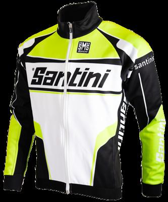 Santini Cyclingjack Long Sleeves Neongreen