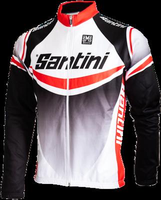 Santini fietsjack  Maglia Lampo