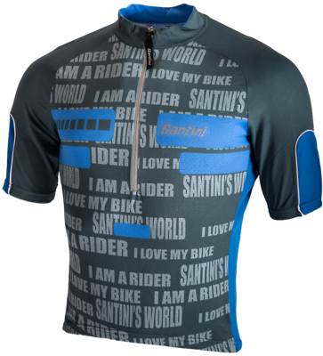 Santini Cycleshirt Fashion Summer Maglia