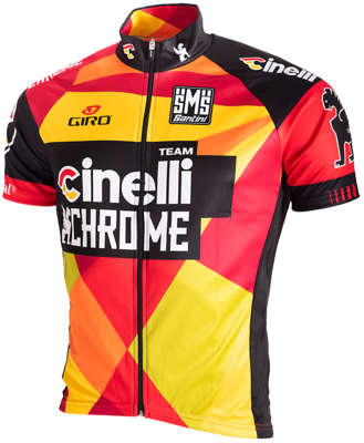 Santini Wieler Shirt Team Cinnelli Chrome 2015