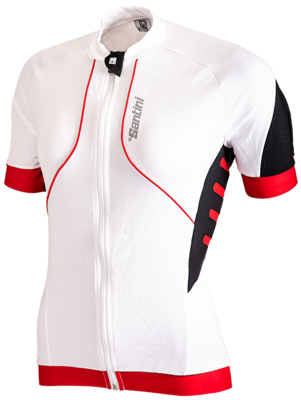 Santini Cycleshirt Short Sleeve BCool Red