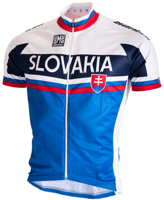 Santini Wielershirt Team Slowakije 2015