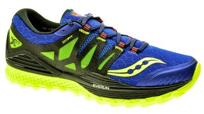 Saucony Xodus ISO blue/black/citron heren