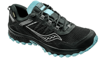 Saucony Women's Versafoam Excursion 13 GTX black/blue