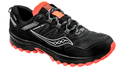 Saucony Men's Versafoam Excursion 13 GTX black/orange