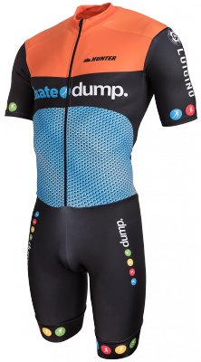 Hunter inline skinsuit Team Luigino SkateDump