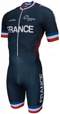 Hunter inline skinsuit Team France