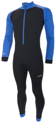 Skylar Marathon Suit Kuopio Kids black/blue
