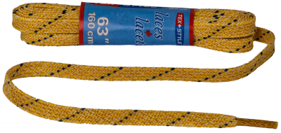 Texstyle Waxed laces 160cm yellow