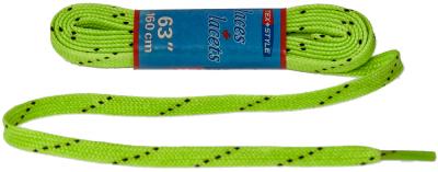 Texstyle Wax veters groen 160cm